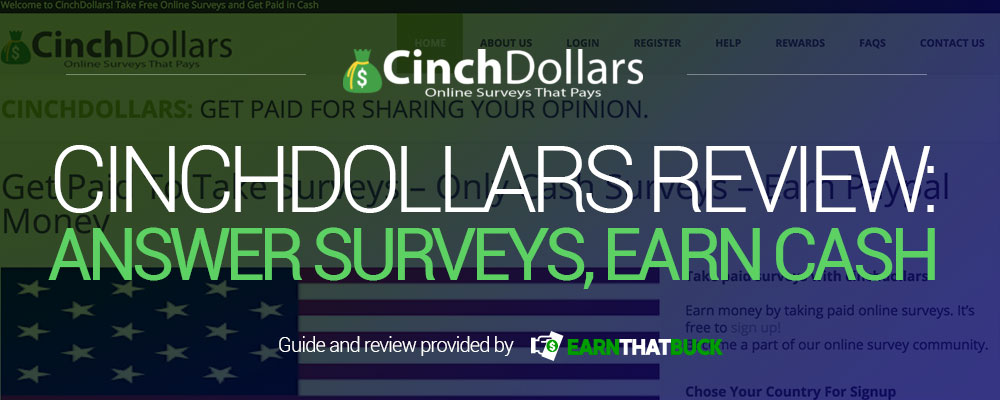 CinchDollars Review Answer Surveys, Earn Cash.jpg