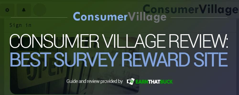 Consumer Village Review Best Survey Reward Site.jpg