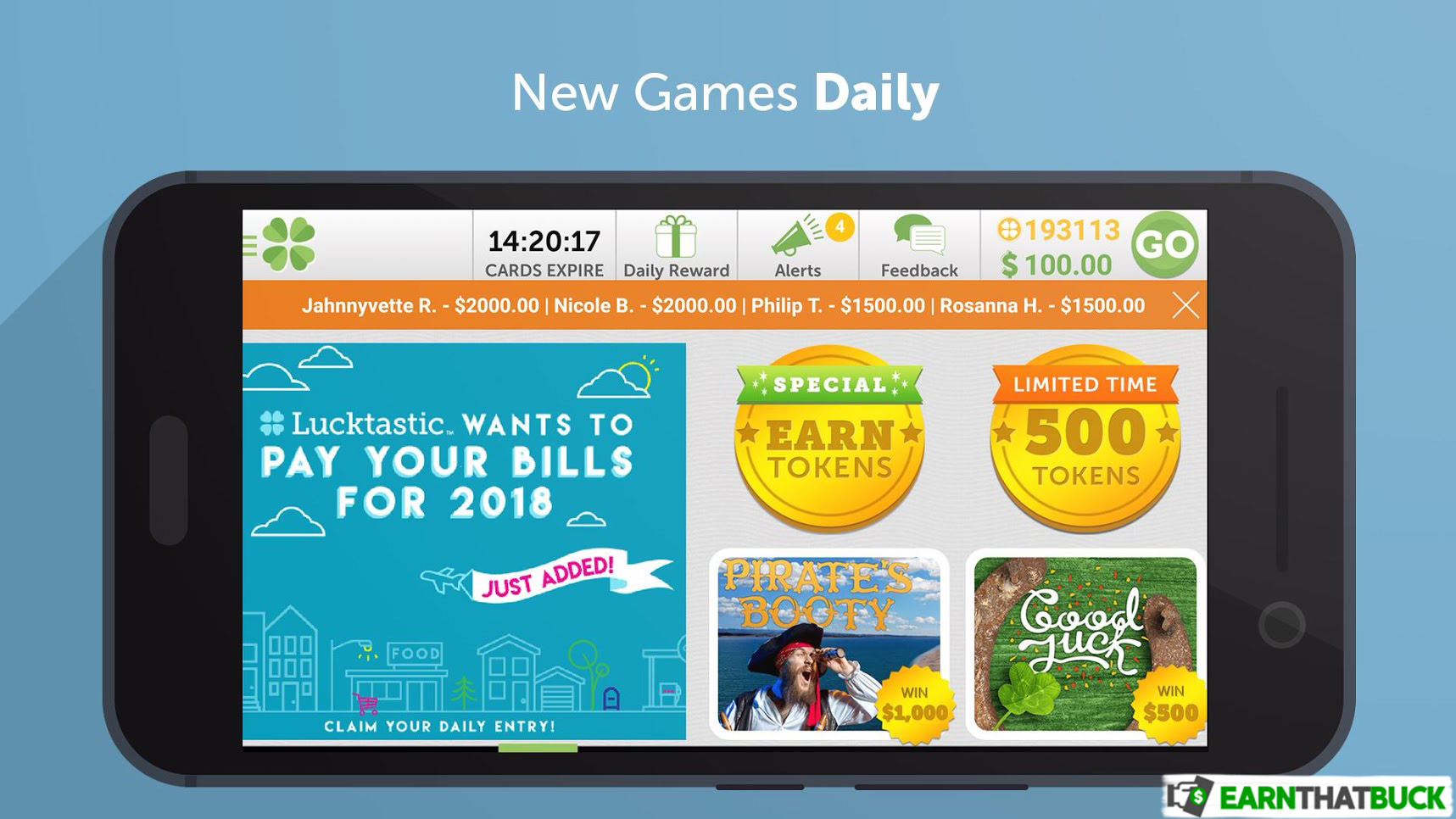 LEGIT - Lucktastic Review: Have Fun While Winning Cash