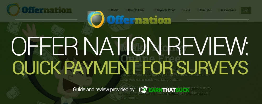 LEGIT - Offer Nation Review: Quick Payment for Surveys