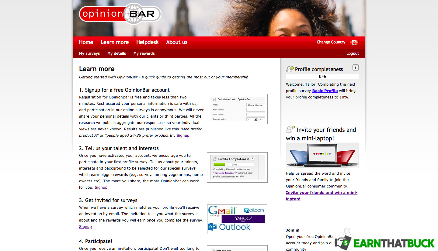 SCAM - OpinionBar Review: Get Paid to Take Surveys and Test Products