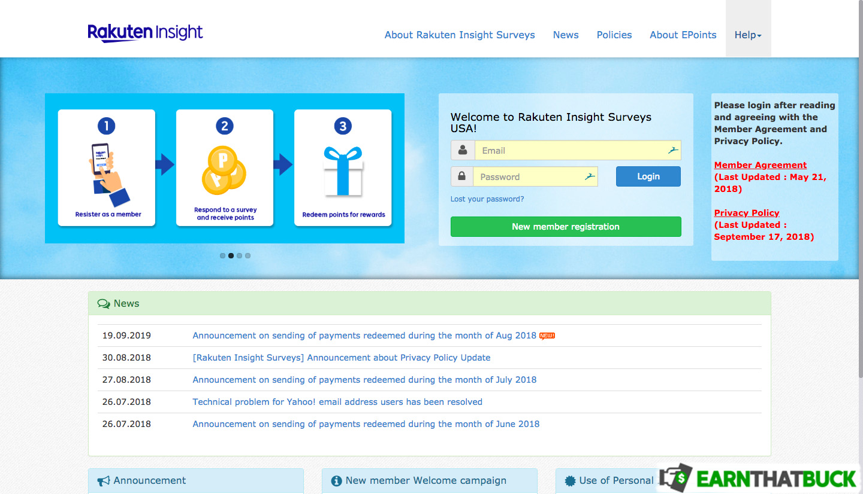 LEGIT - Rakuten Insight Review: Answer Surveys for Cash and E
