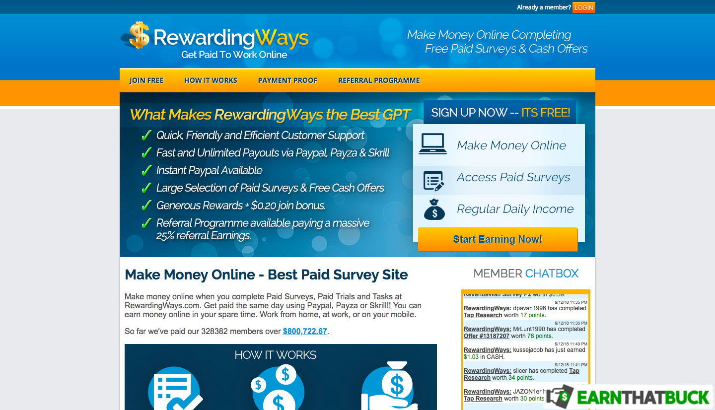 LEGIT - Rewarding Ways Review: Fast Payouts - Scam or Legit