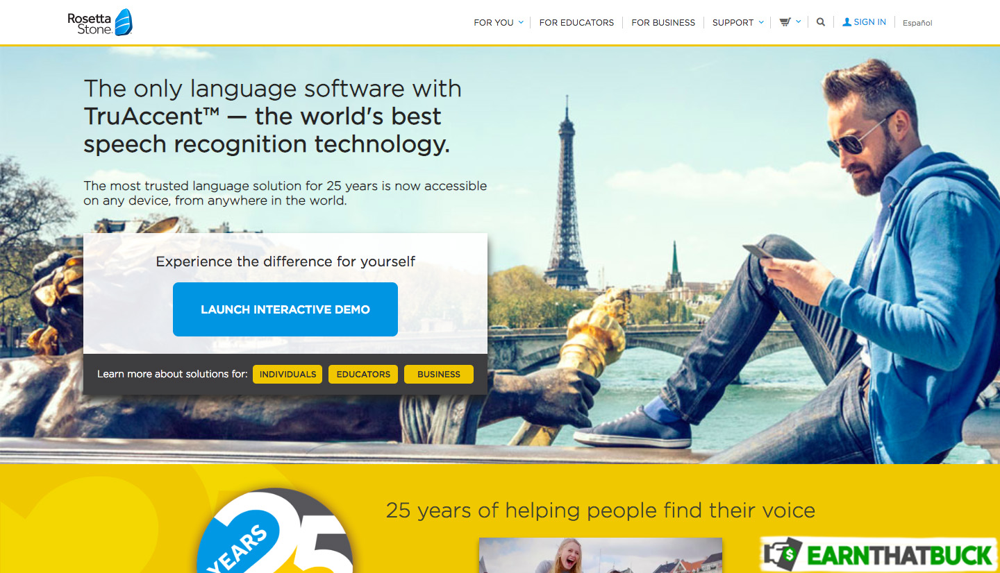 LEGIT - Rosetta Stone Review: Earn $15 an Hour Teaching