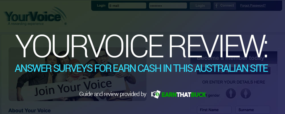 YourVoice Review Answer Surveys for Earn Cash in this Australian Site.jpg